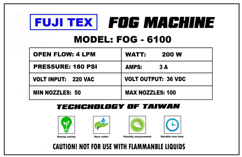 FUJITEX FOG 6100