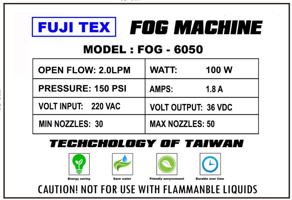 FUJITEX FOG 6050