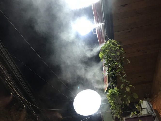 giá hệ thống phun sương ống đồng giá rẻ
