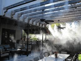 phun sương quán cafe